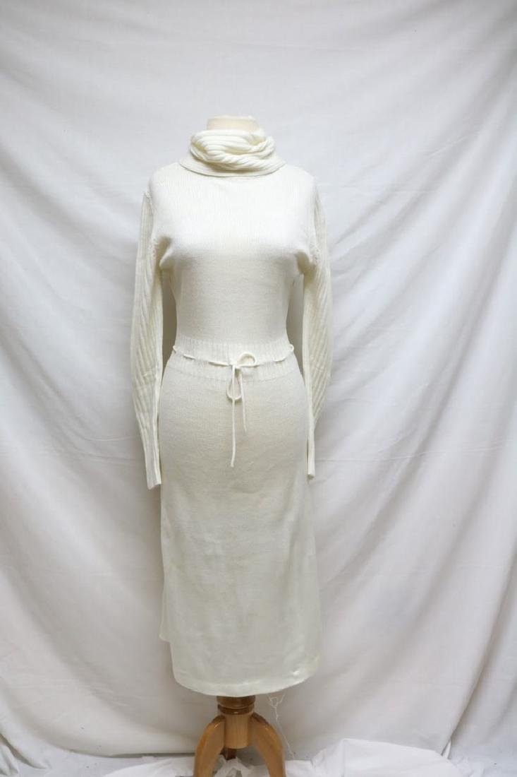1970s turtleneck sweater dress