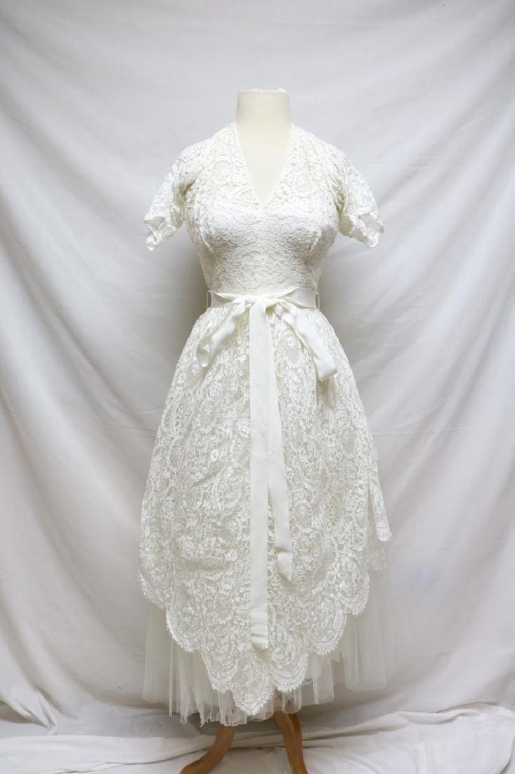 1950s Harry Keiser Halter Dress