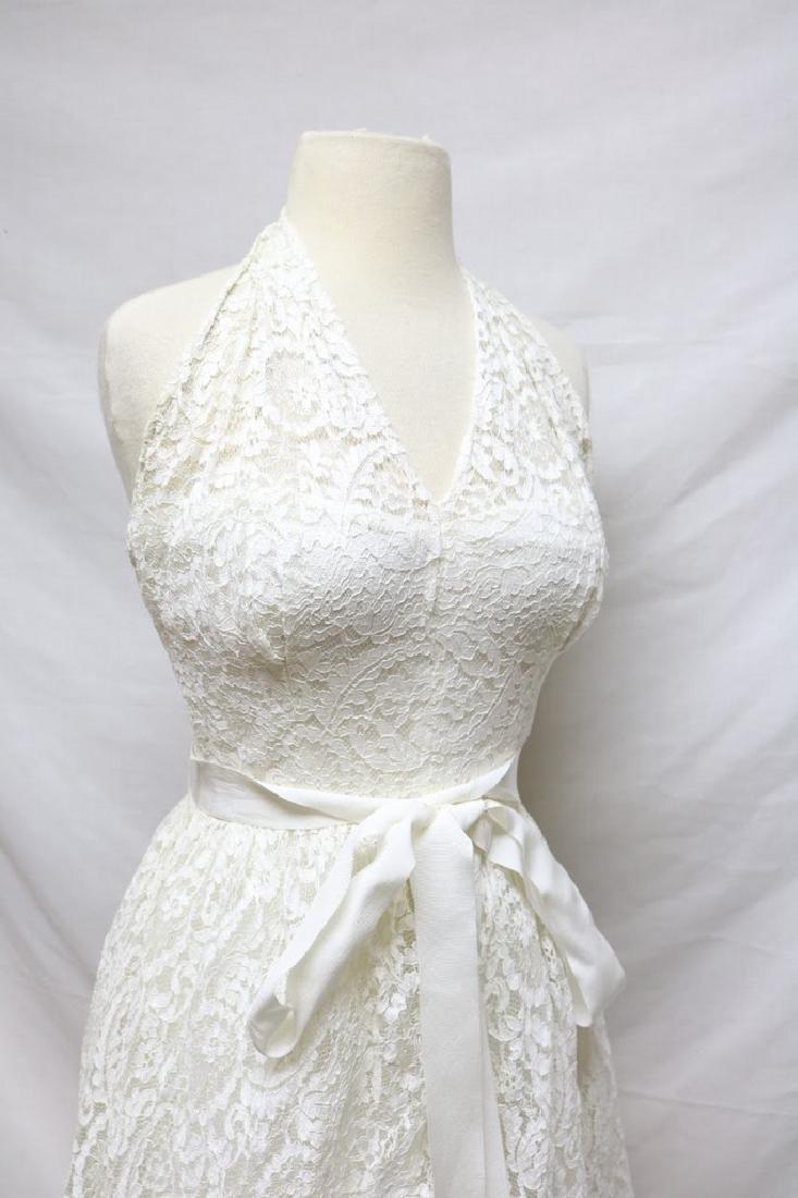 1950s Harry Keiser Halter Dress - 3