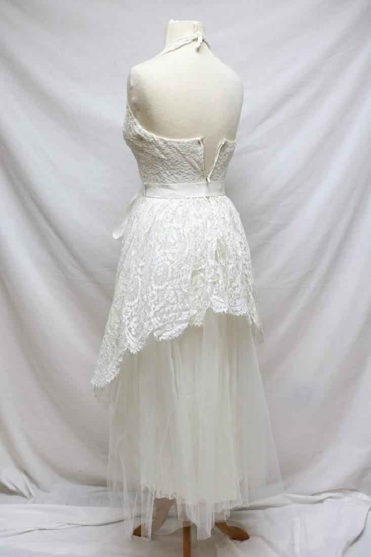 1950s Harry Keiser Halter Dress - 4