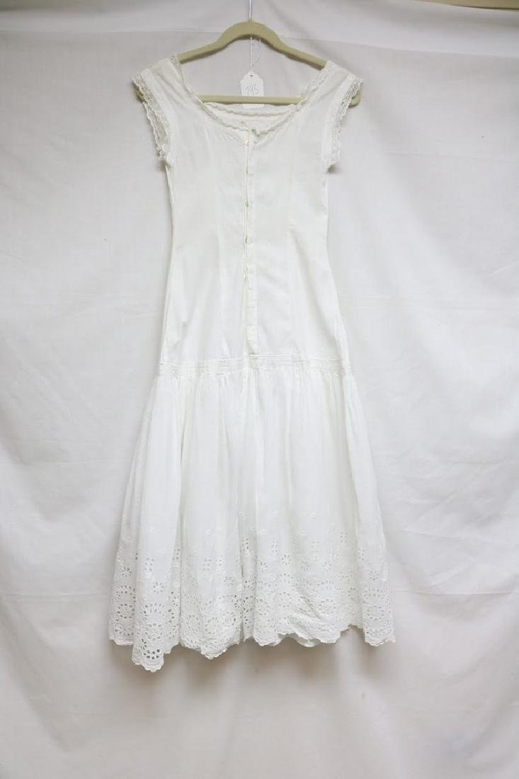 Edwardian eyelet & lace dress