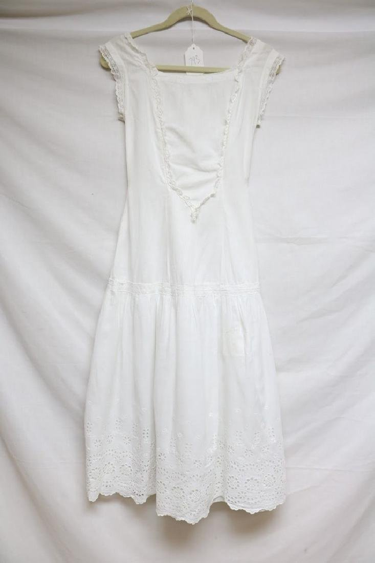 Edwardian eyelet & lace dress - 3