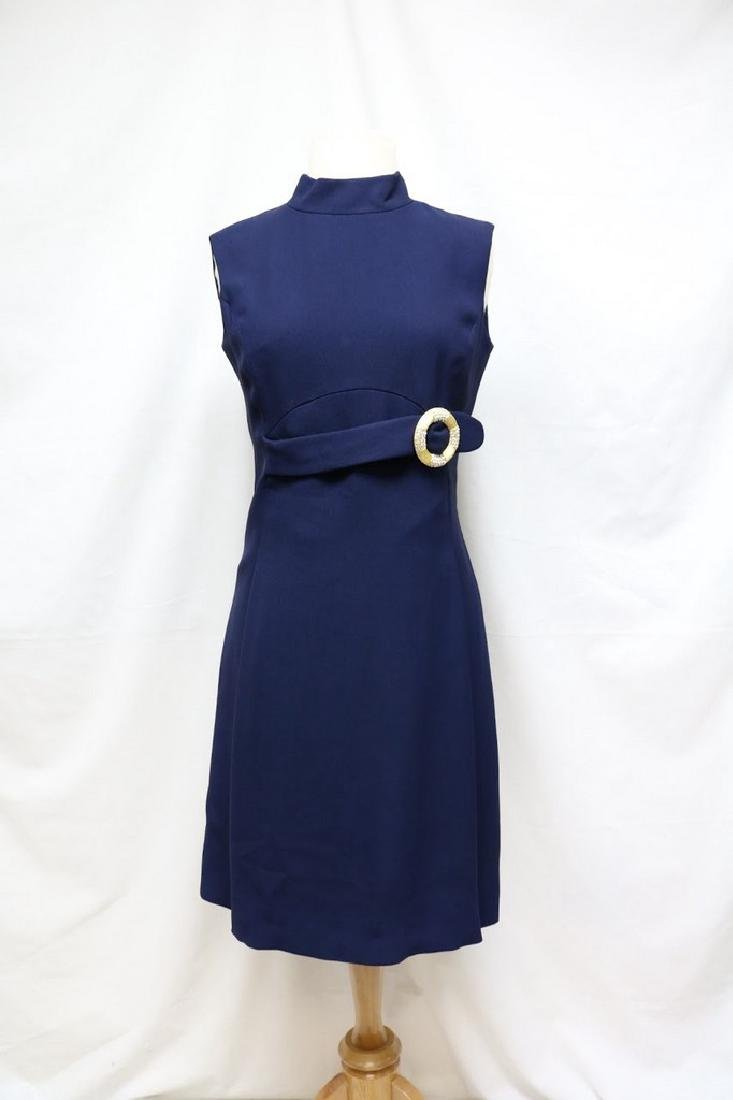 1960s rayon shift dress