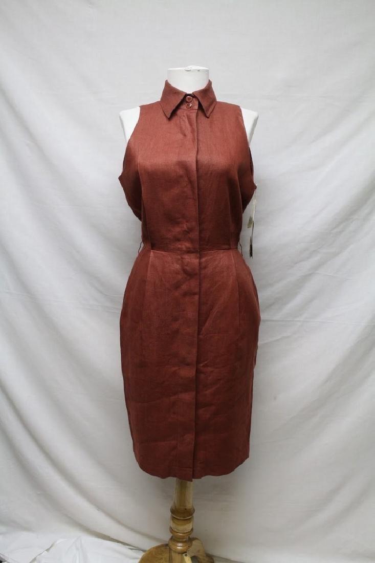 1990s deadstock Anne Klein linen dress