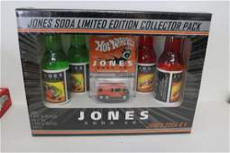 Hot Wheels Jones Soda limited edition collector pack