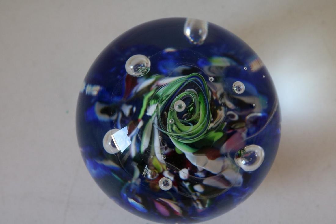 Caithness Myriad Scotland Art Glass Paper Weight - 3