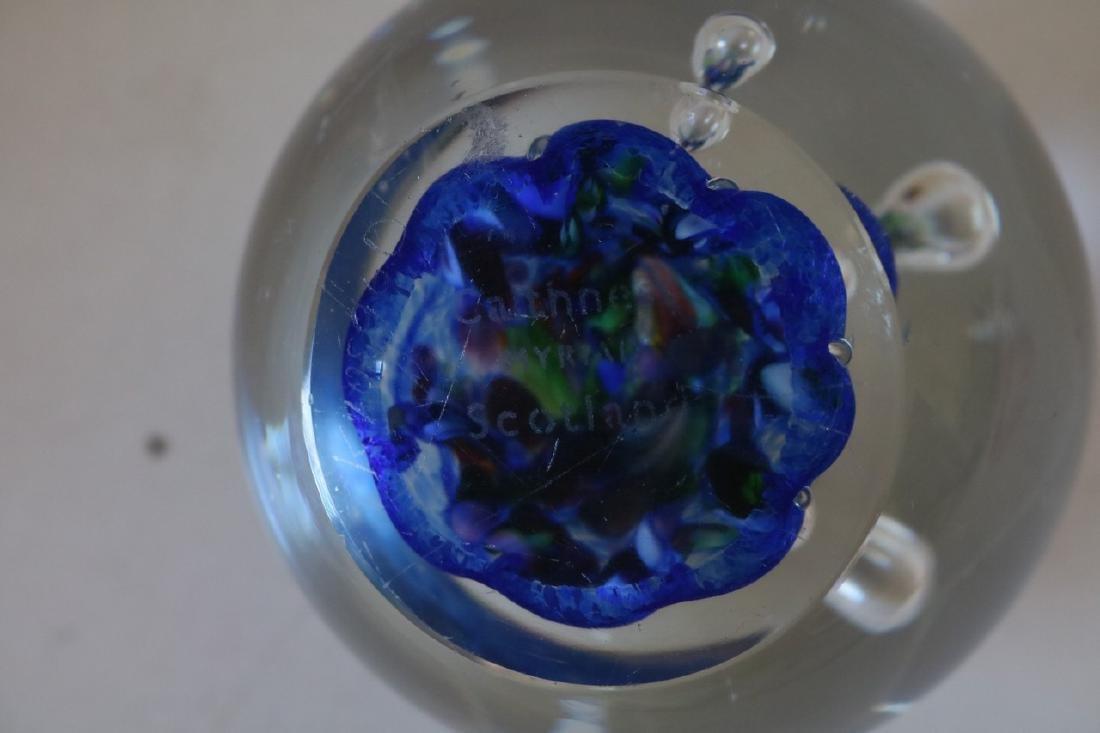 Caithness Myriad Scotland Art Glass Paper Weight - 4