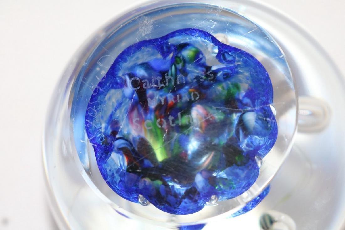 Caithness Myriad Scotland Art Glass Paper Weight - 6