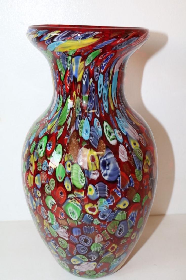 Murano Art Glass Vase - 2