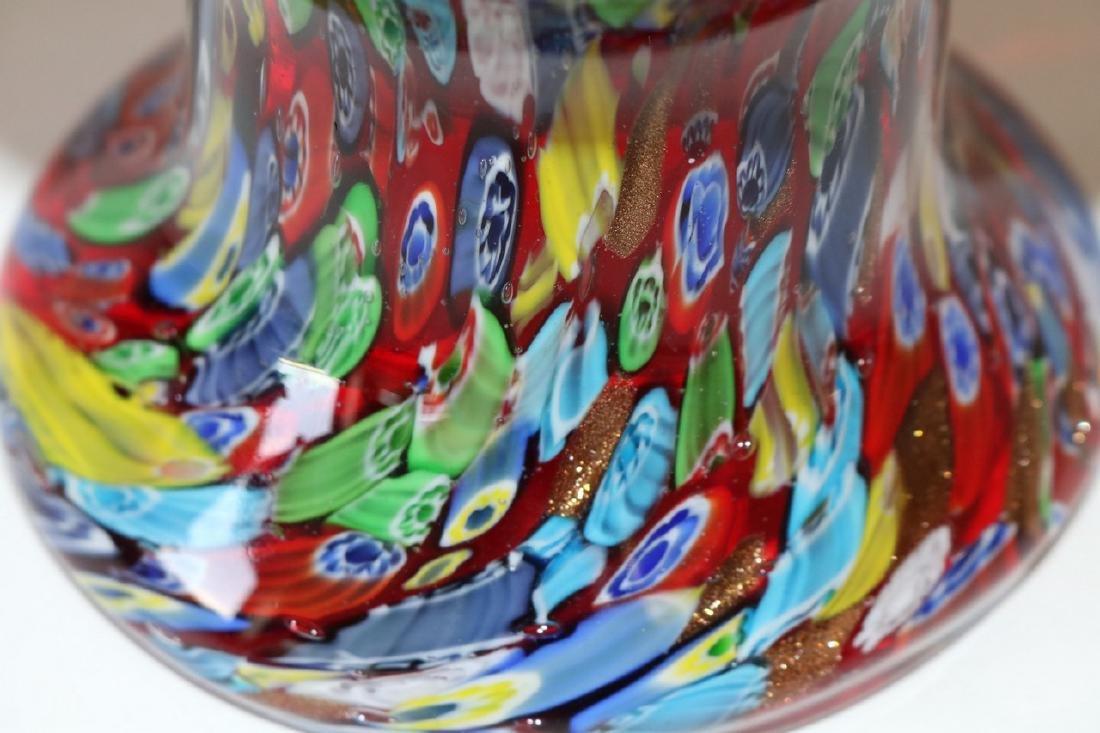 Murano Art Glass Vase - 5