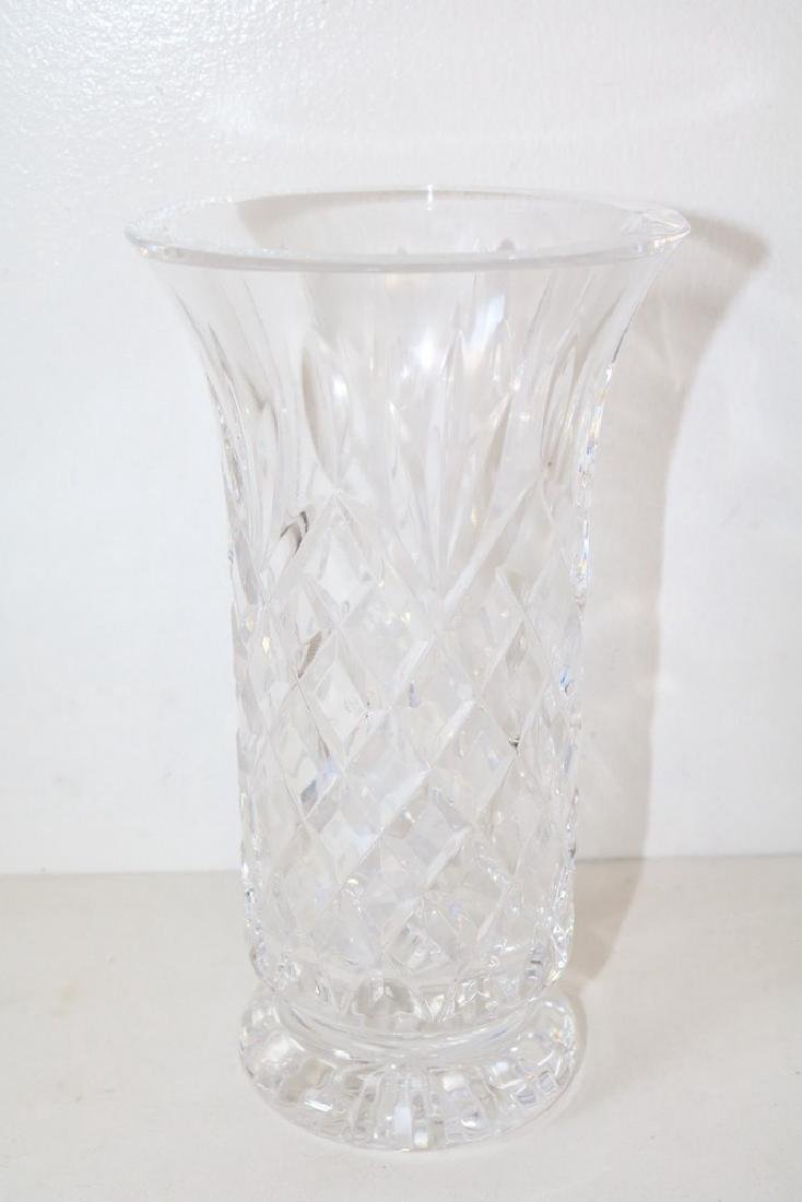Waterford Crystal Vase, 8 1/2 inches tall