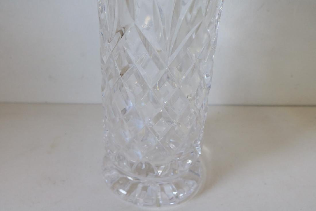 Waterford Crystal Vase, 8 1/2 inches tall - 3