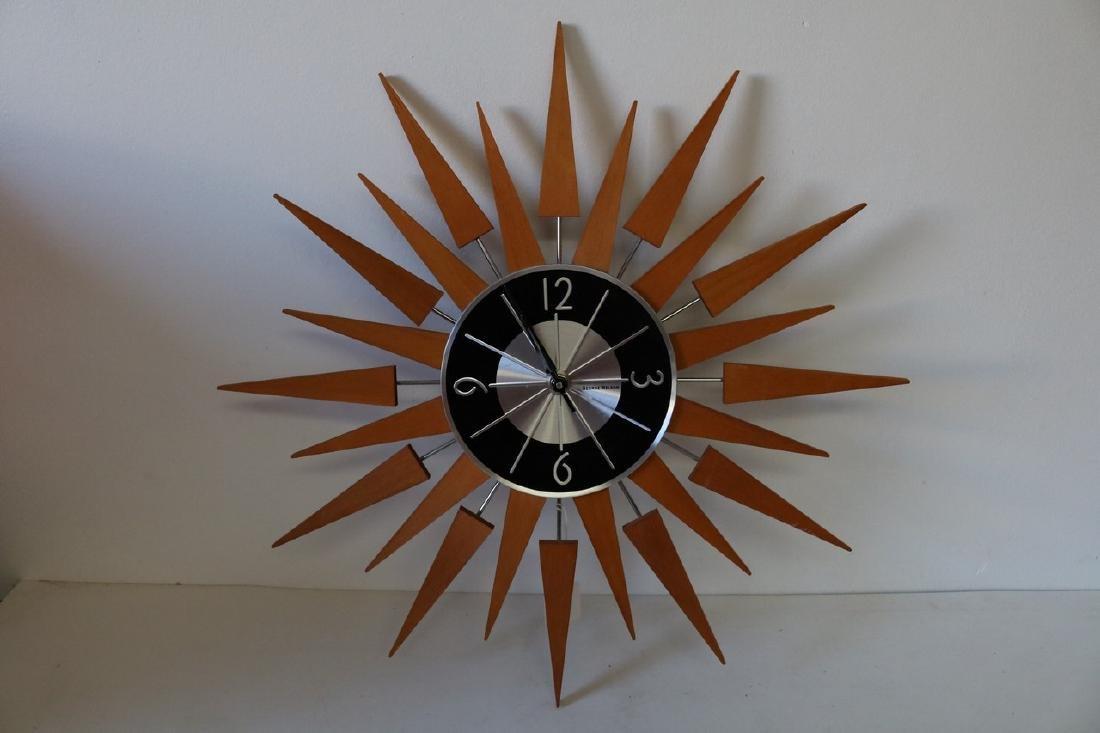 George Nelson Sun Burst Wall Clock