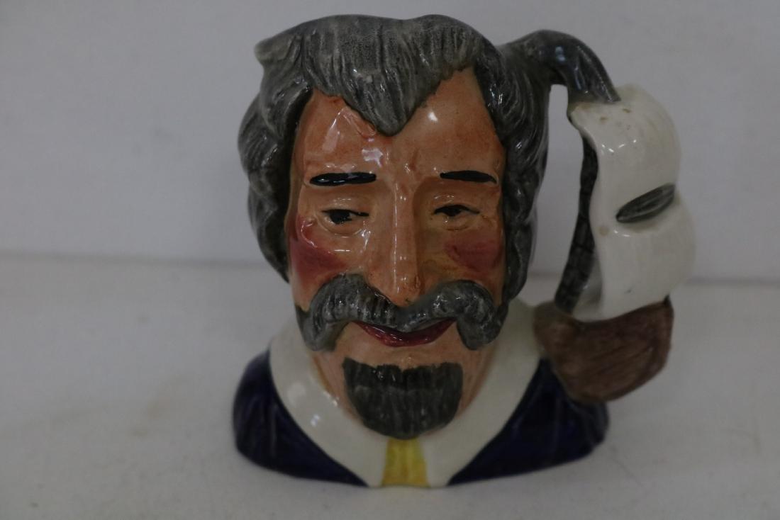 Staffordshire Toby Mug, Mr. Franas Drink