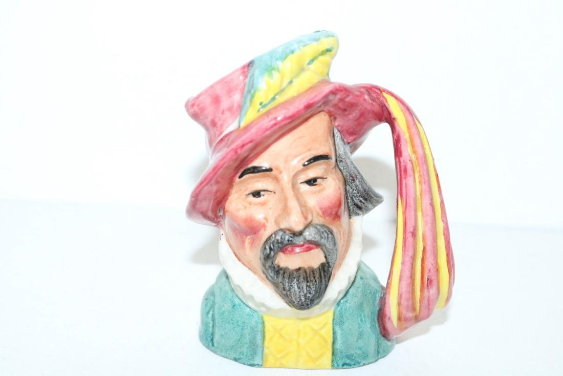 Staffordshire Toby Mug, Sir Walter Raleigh