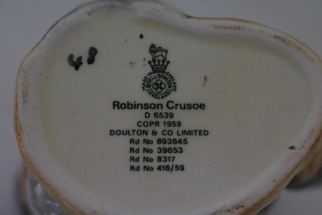 Royal Doulton Toby Mug, Robinson Criusoe, D 6539 - 3