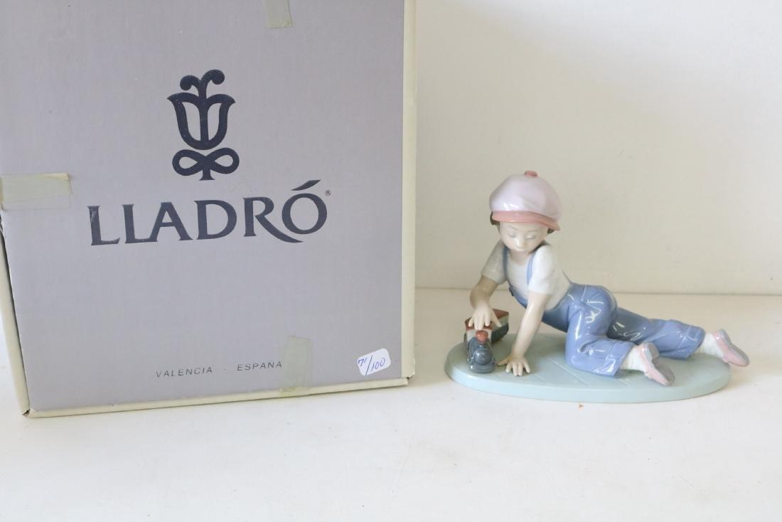 Lladro #07619, All Aboard