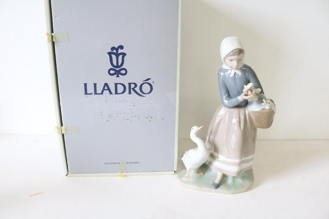 Lladro, Shepherdess with Ducks #4568