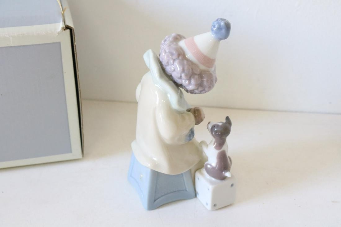 Lladro, Pierrot with Concertina #5279 - 5