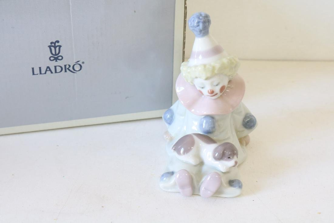 Lladro, Pierrot with Puppy & Ball #5278