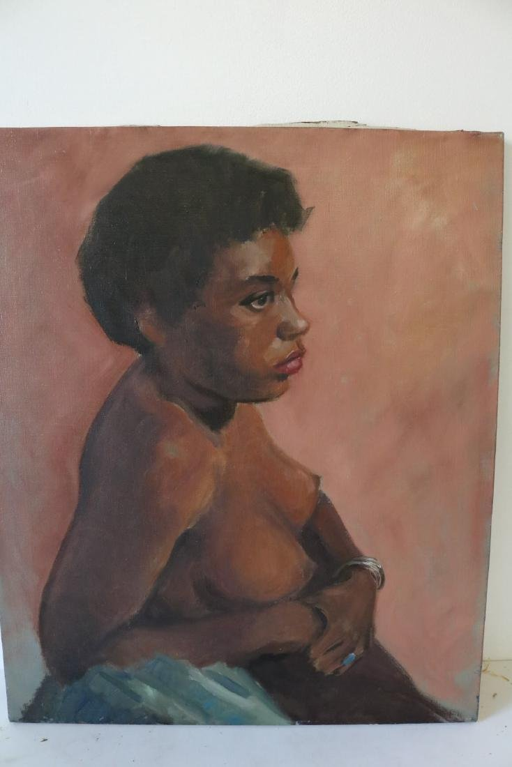 Nude African American Woman, unsigned