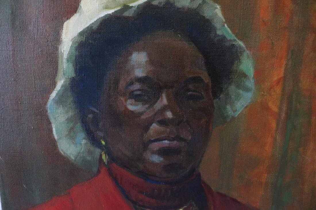 African American Woman Painting by Taylor Sigrun - 2