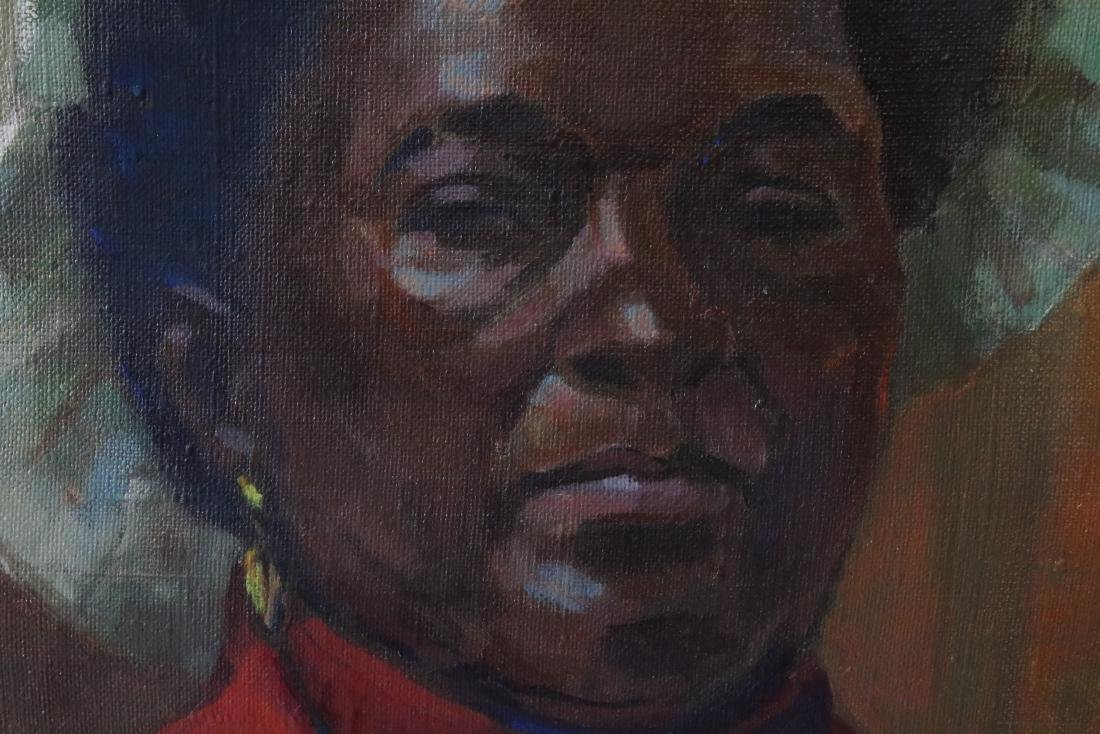 African American Woman Painting by Taylor Sigrun - 4