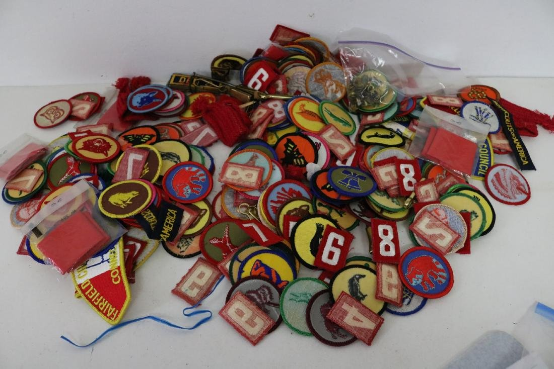 Large Lot of Vintage Scout Patches