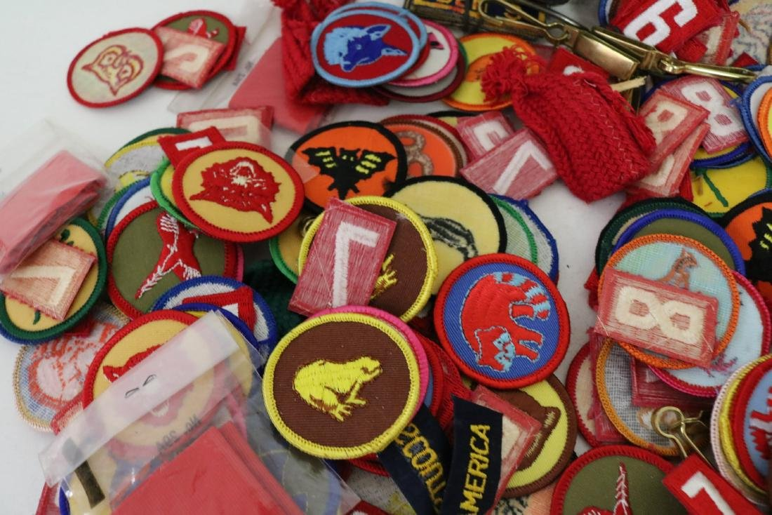 Large Lot of Vintage Scout Patches - 2