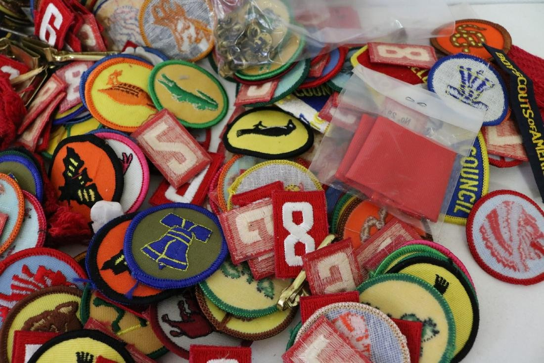 Large Lot of Vintage Scout Patches - 3