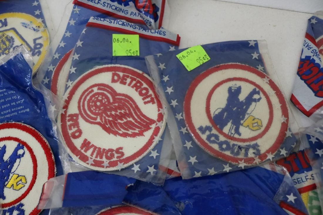 Lot 30 plus Vintage Hockey Iron on Patches - 2