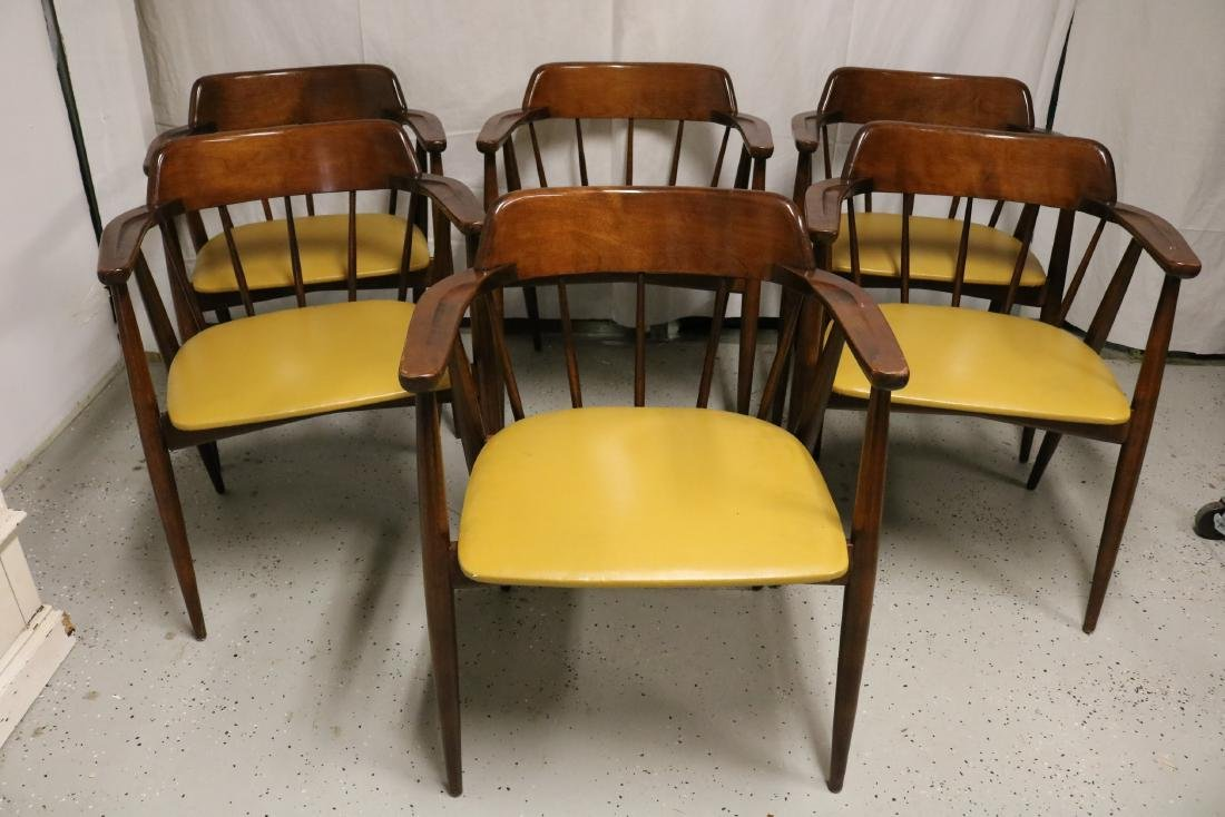 set of 6 Viko Baumritter Arm Chairs