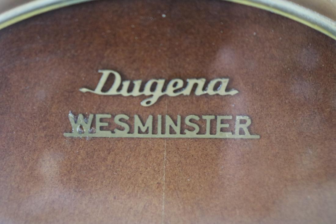 Dugena Westminister Mid-Century Mantel Clock - 2