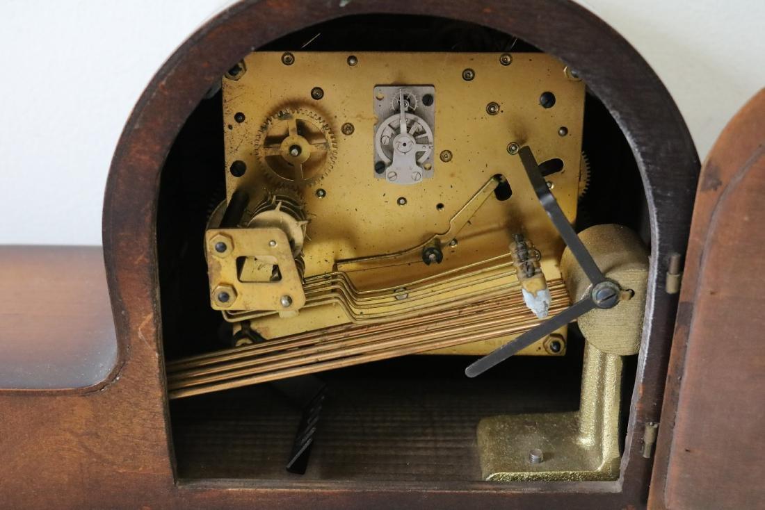 Dugena Westminister Mid-Century Mantel Clock - 3