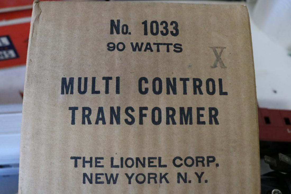 Lot of Vintage Lionel Trains, Transformer, & Tracks - 10