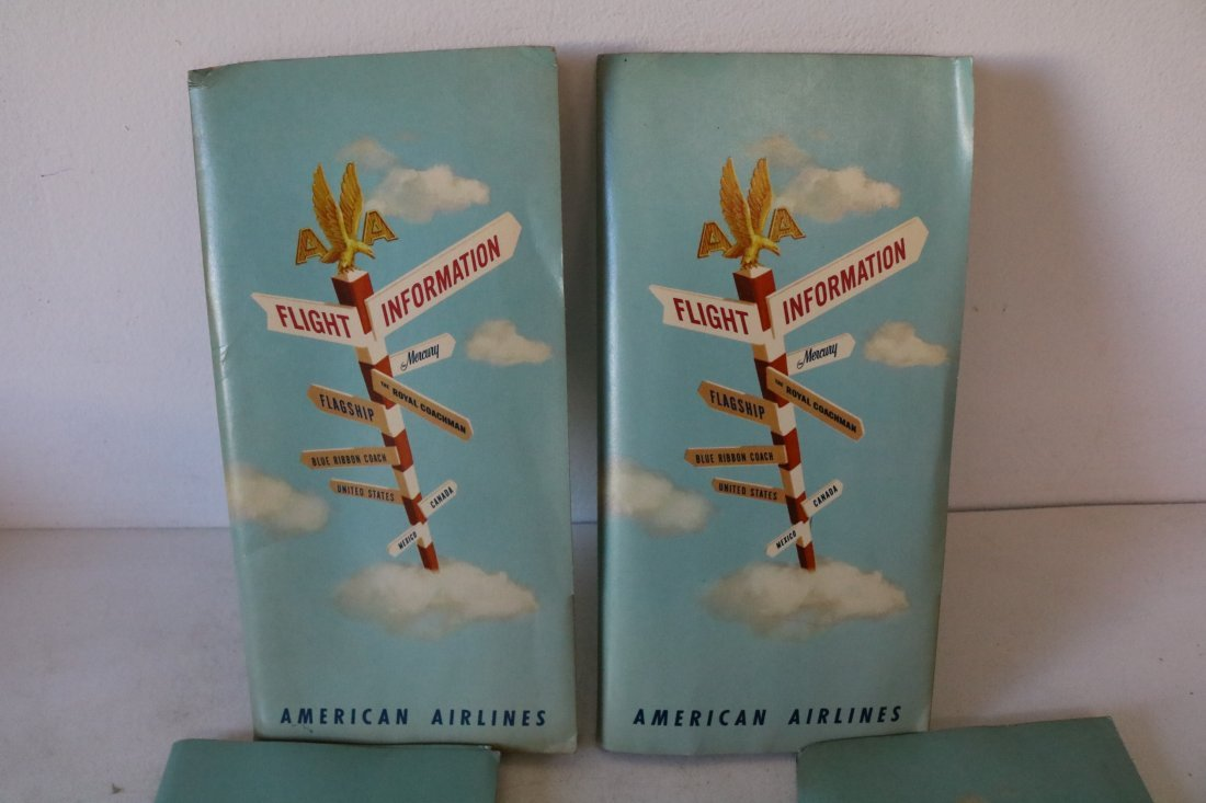 American Airlines 1957 Welcome Packets - 2