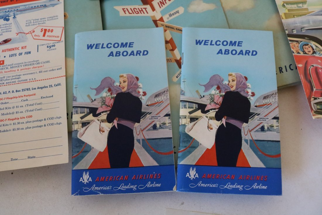 American Airlines 1957 Welcome Packets - 3