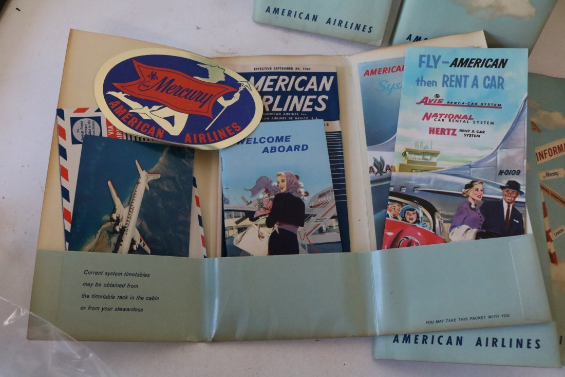American Airlines 1957 Welcome Packets - 5