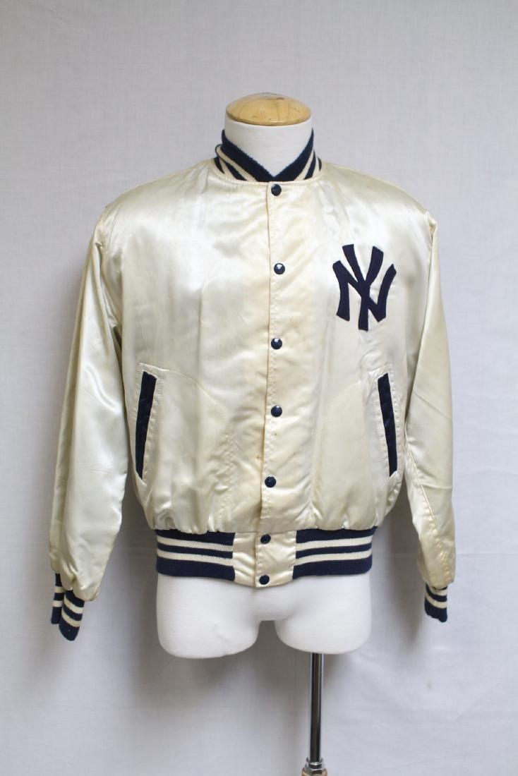 1960s Yankees Satin Baseball Jacket