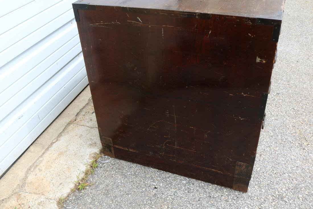 Lot of 4 Mahogany 2 Draw Cabinets - 7