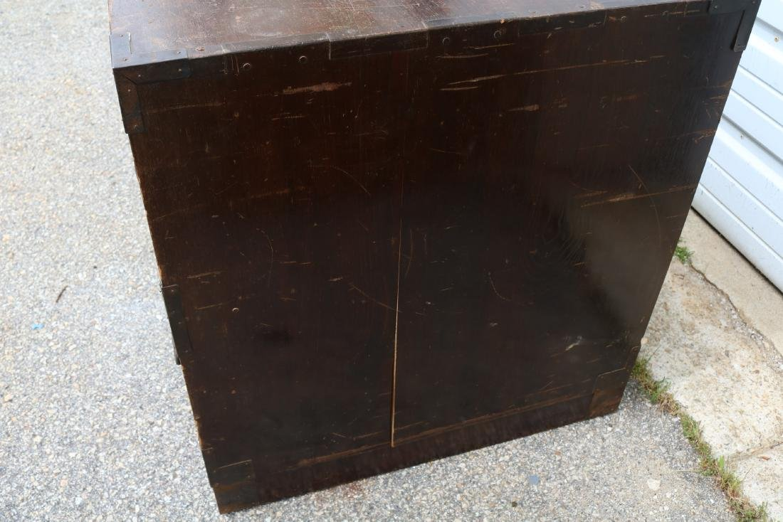 Lot of 4 Mahogany 2 Draw Cabinets - 8