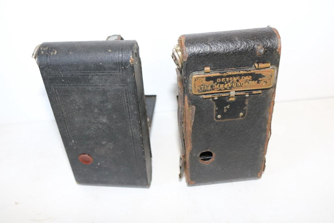 Pair of Antique Cameras, Hawkeye & Kodak #2 - 7