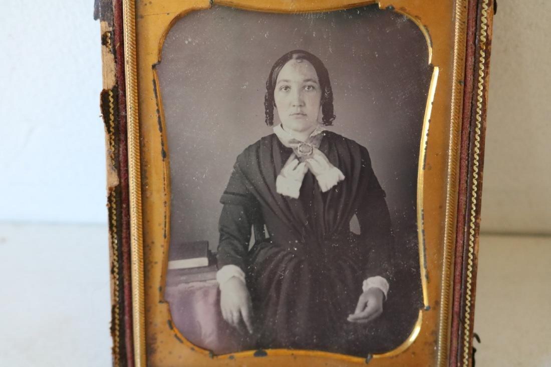 Lot of 4 Daguerreotype & Tin Photos, Girl w/ Doll - 5