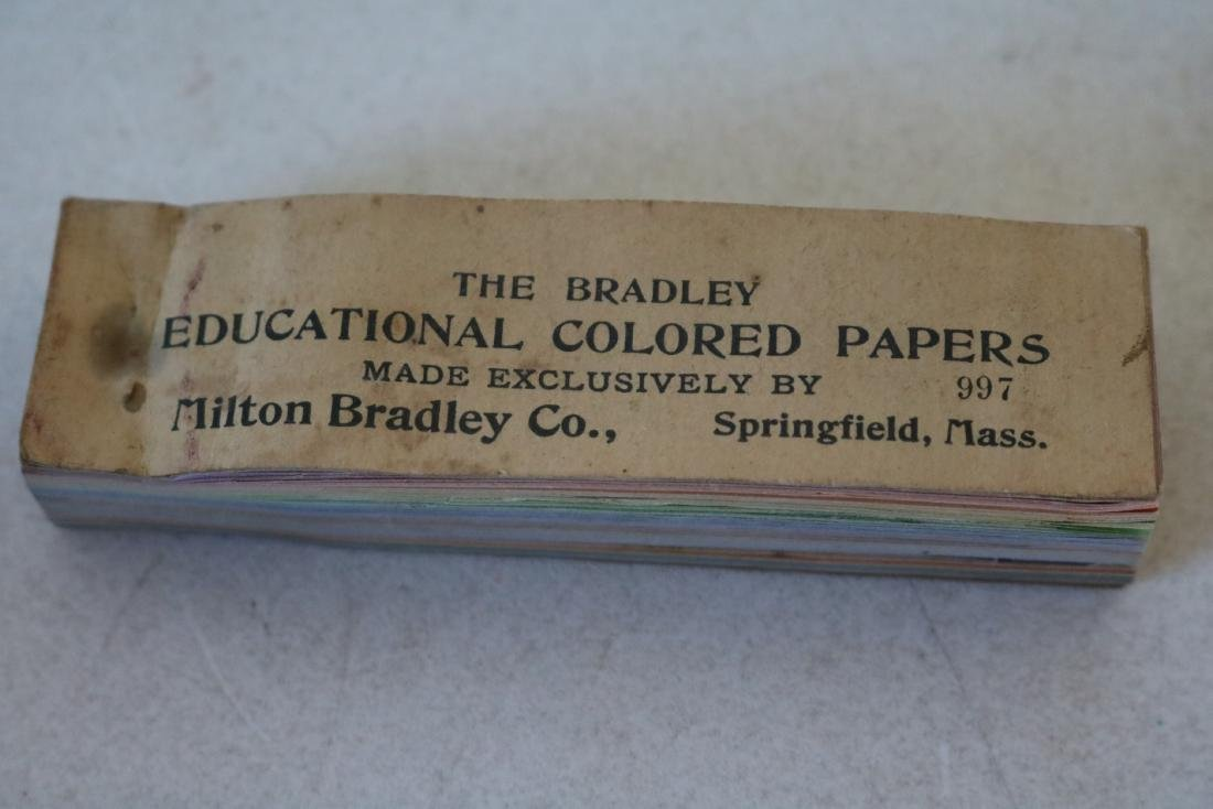 The Bradley Educational Company Colored Papers sample