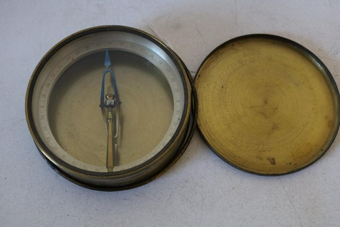 Early Brass Compass