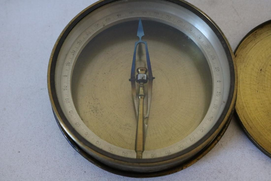 Early Brass Compass - 2
