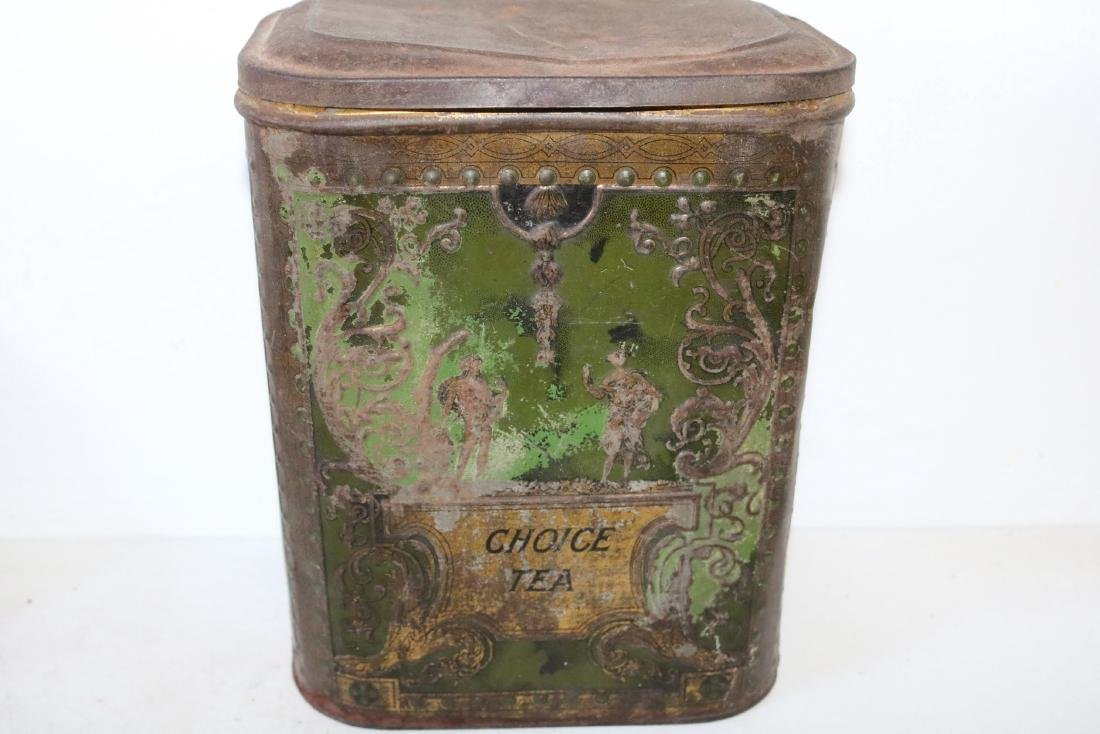 "Antique ""Choice Tea"" Tin"