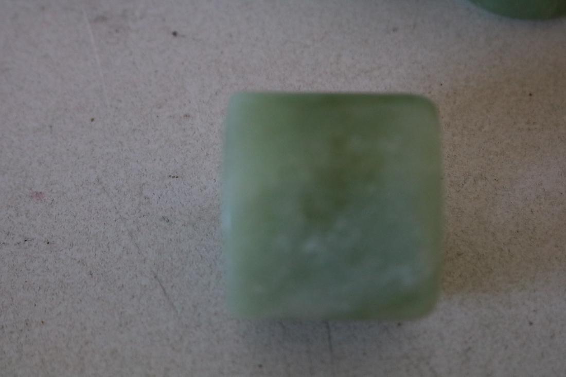 3 Pieces Jade Thumb Rings - 3