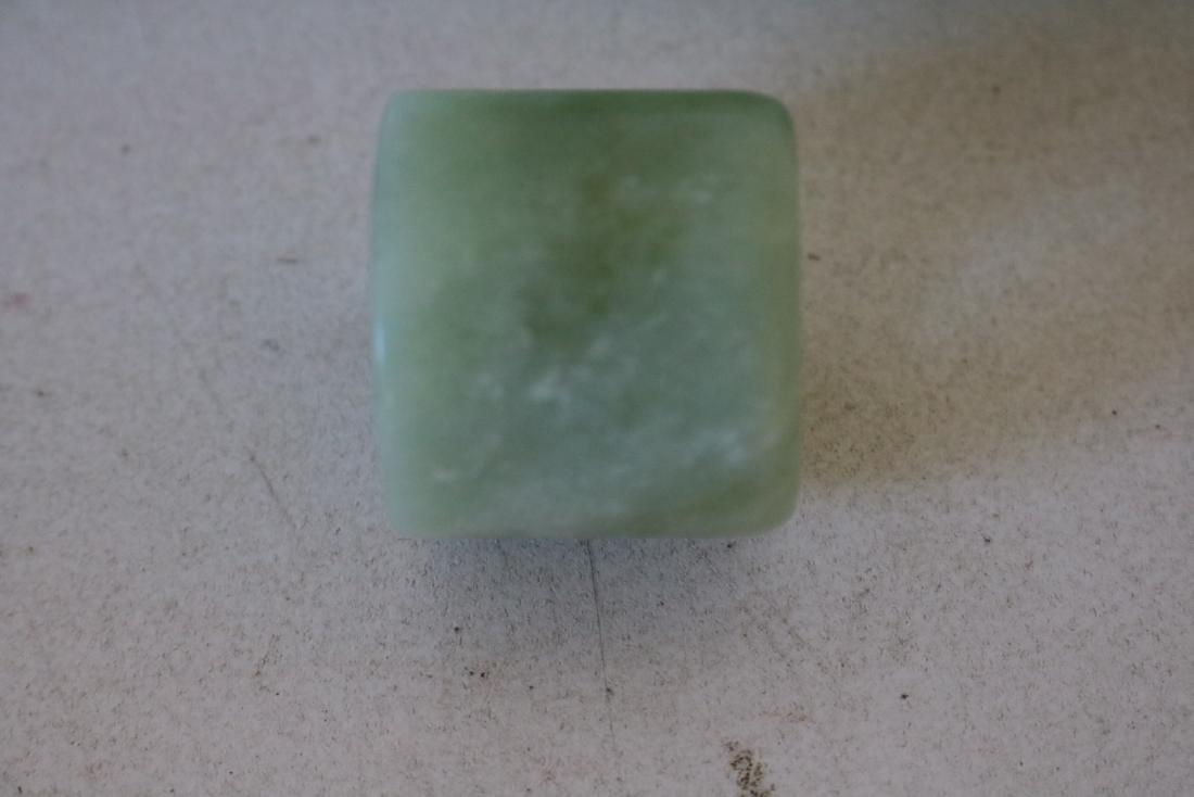 3 Pieces Jade Thumb Rings - 4