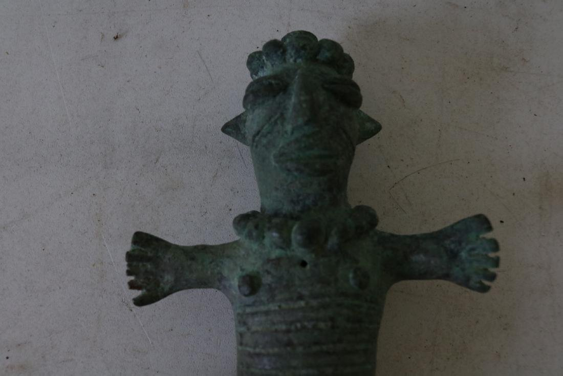 Old Bronze Figure, Archaic Type - 4